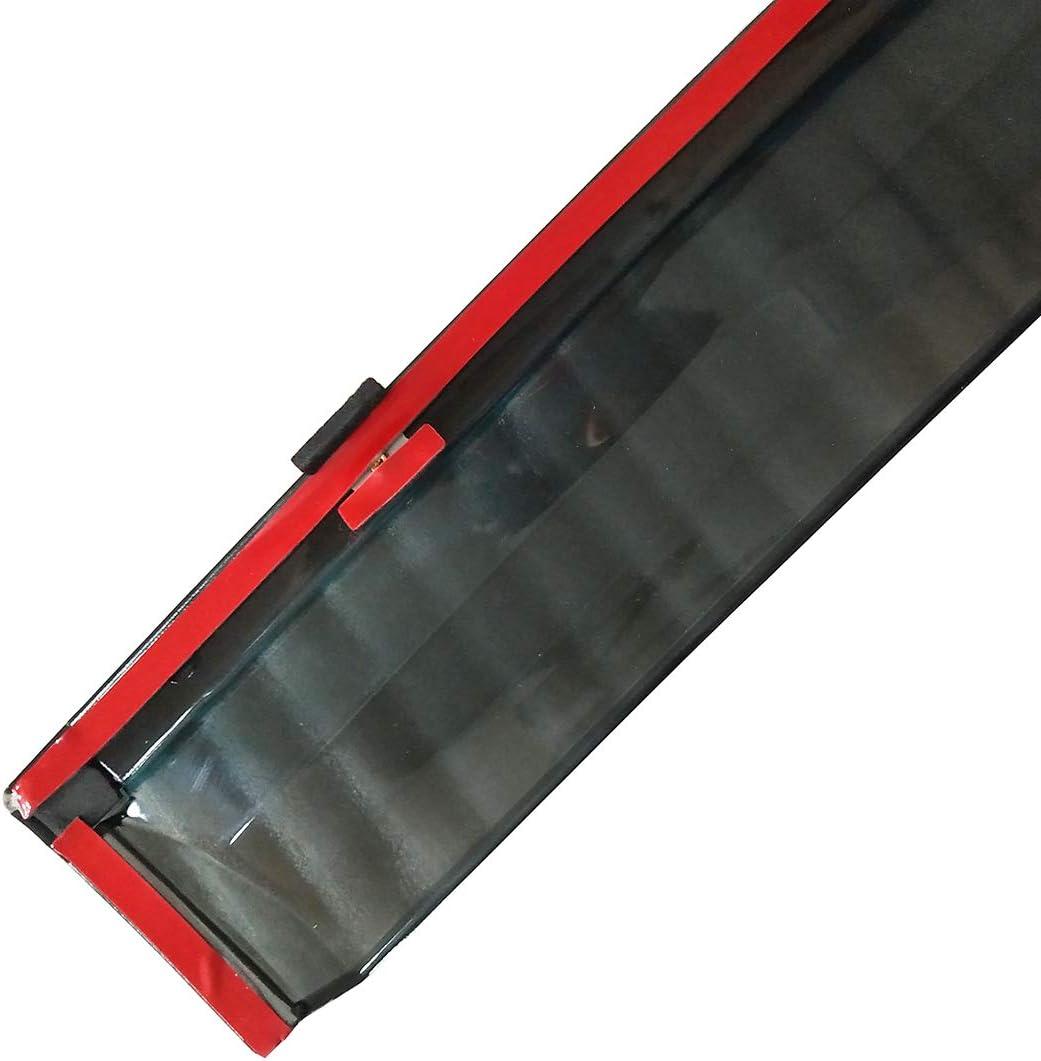 CStern Acrylglas Premium Qualit/ät Windabweiser Auto Regenabweiser Regenschutz Rauchgrau 4-teilig f/ür Honda CR-V CRV 5th 2017 2018 2019 Seitenscheiben vorn und hinten