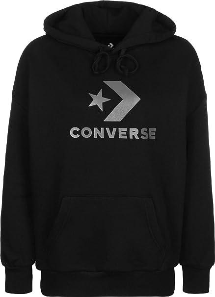 Converse Fndtion Fleece OS PO W Sudadera con Capucha: Amazon.es: Ropa y accesorios