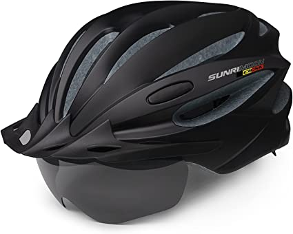 Bicycle Bike Helmet for Adults Men Women with Rechargeable USB Light