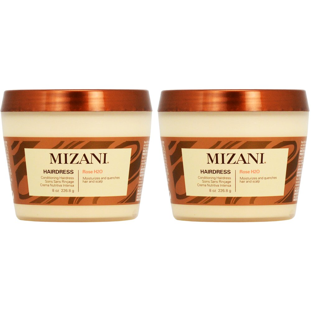 Mizani Rose H2O Conditioning Hairdress 8oz (Pack of 2)