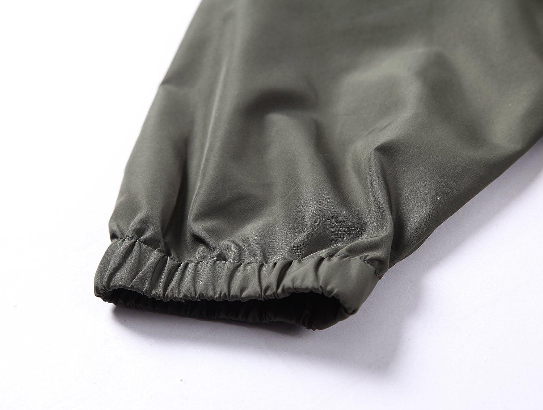Beautiful Giant Mens Water Resistant Zip Hoodie Pullover Windbreaker