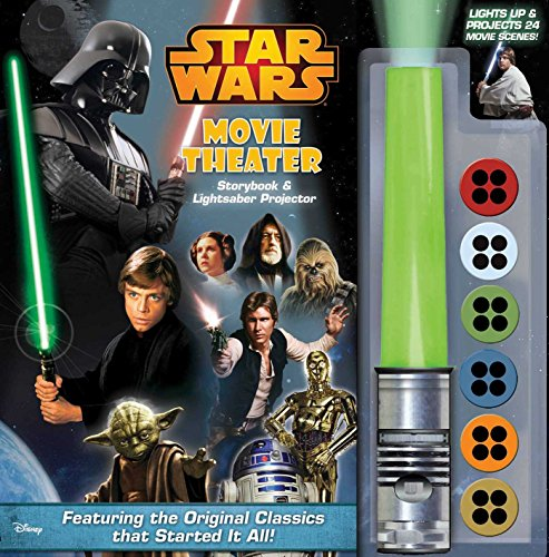 Price comparison product image Star Wars Movie Theater Storybook & Lightsaber Projector