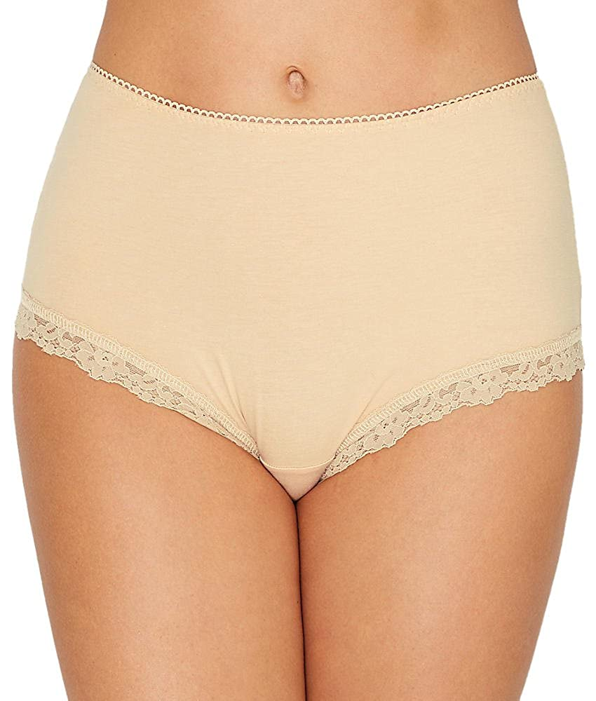 ea7c2480d2ba Hanky Panky Women's Cotton Shirred Back Panty at Amazon Women's Clothing  store: