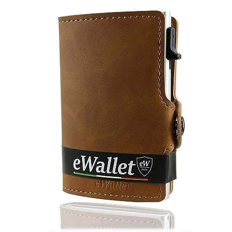 e3e194c331 Porta Carte di Credito, eWallet, Portafoglio Uomo, Donna, Blocco RFID e NFC