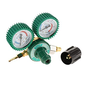 FLAMEER Válvula Indicador Regulador Presión de Gas Partes de Industries Equipo de Reemplazo: Amazon.es: Bricolaje y herramientas