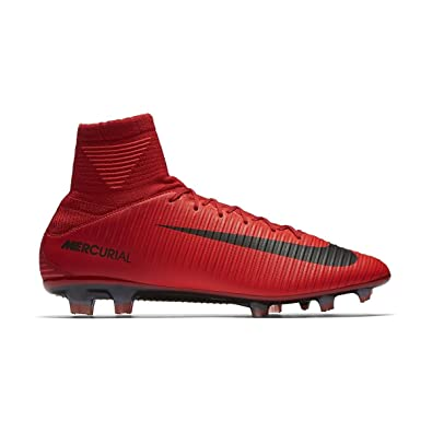 a1c799b6e013 Nike Men s Mercurial Veloce III DF FG Soccer Cleat (SZ. 7.5) Red ...