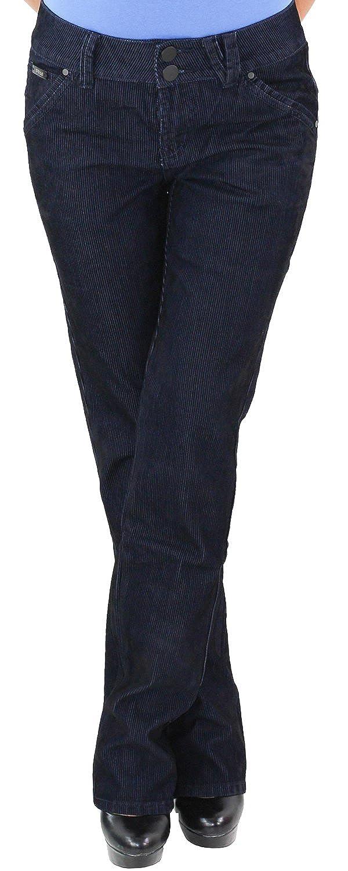 Cordhose Hüft Stretch Hose Gerader Schnitt Straight Leg Gerades Bein Übergröße.