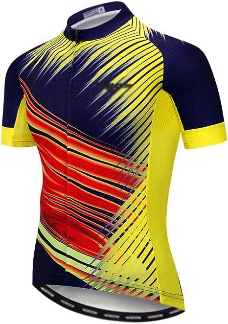 Abbigliamento sportivo Ciclismo Maglie Manica Corta Abbigliamento Bicicletta Top Uomini MTB Jersey Traspirante Estate