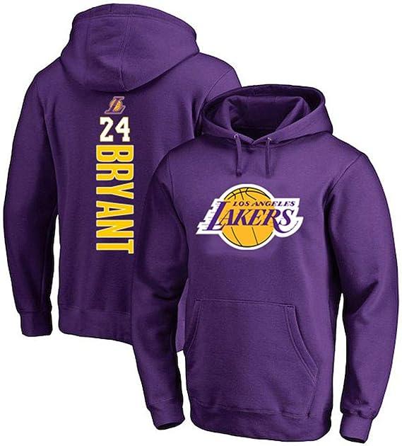 Hanbao Sudadera con Capucha De Baloncesto NBA Lakers 24# Kobe ...