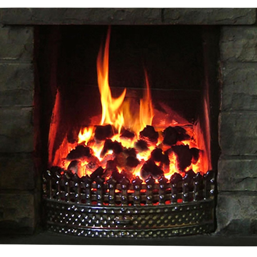 20kg of Peat Heat Smokeless Fire Fuel Coal Alternative for Open and Log Fires- Comes with THE LOG HUT® Woven Sack.