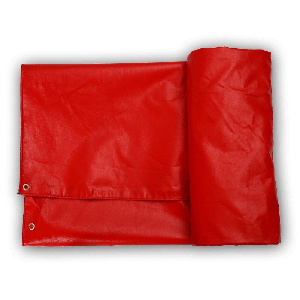 JIANFEI オーニング 防水耐寒性日焼け止め耐磨耗性耐寒性耐寒性PVC厚さ0.8mmカスタマイズ可能 (色 : Red, サイズ さいず : 2.8x3.8m) B07FYKB367 2.8x3.8m|Red Red 2.8x3.8m
