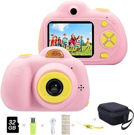 Cámara para niños ToyZoom Cámara de Fotos Digital 2 Objetivos ...