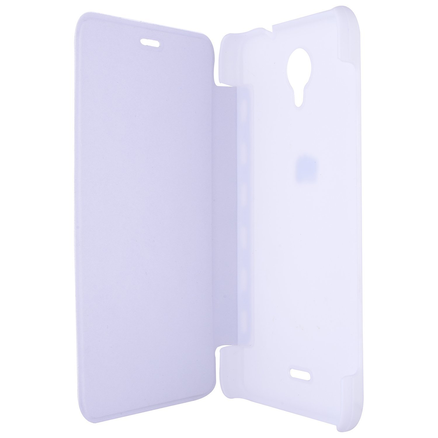 first rate a37a2 64fea Teflon Bell Premium Leather Finish Flip Case Cover for Micromax ...