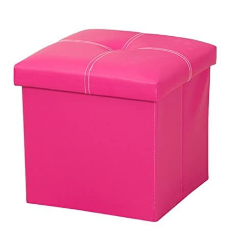 Pleasing Amazon Com Dasior Faux Leather Storage Ottoman Cube Solid Uwap Interior Chair Design Uwaporg