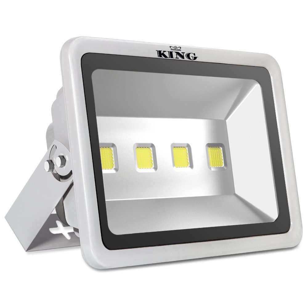 King 200W High Power LED Flood Light Daylight White 6500K Waterproof Outdoor lighting Spotlight Wall Garden Projector AC100-240V