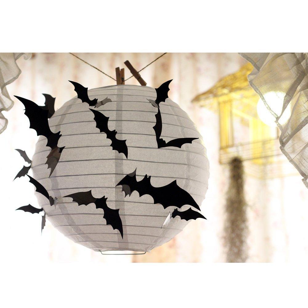 Kyerivs Halloween Wandtattoo Fledermaus Wandsticker Halloween Party ...
