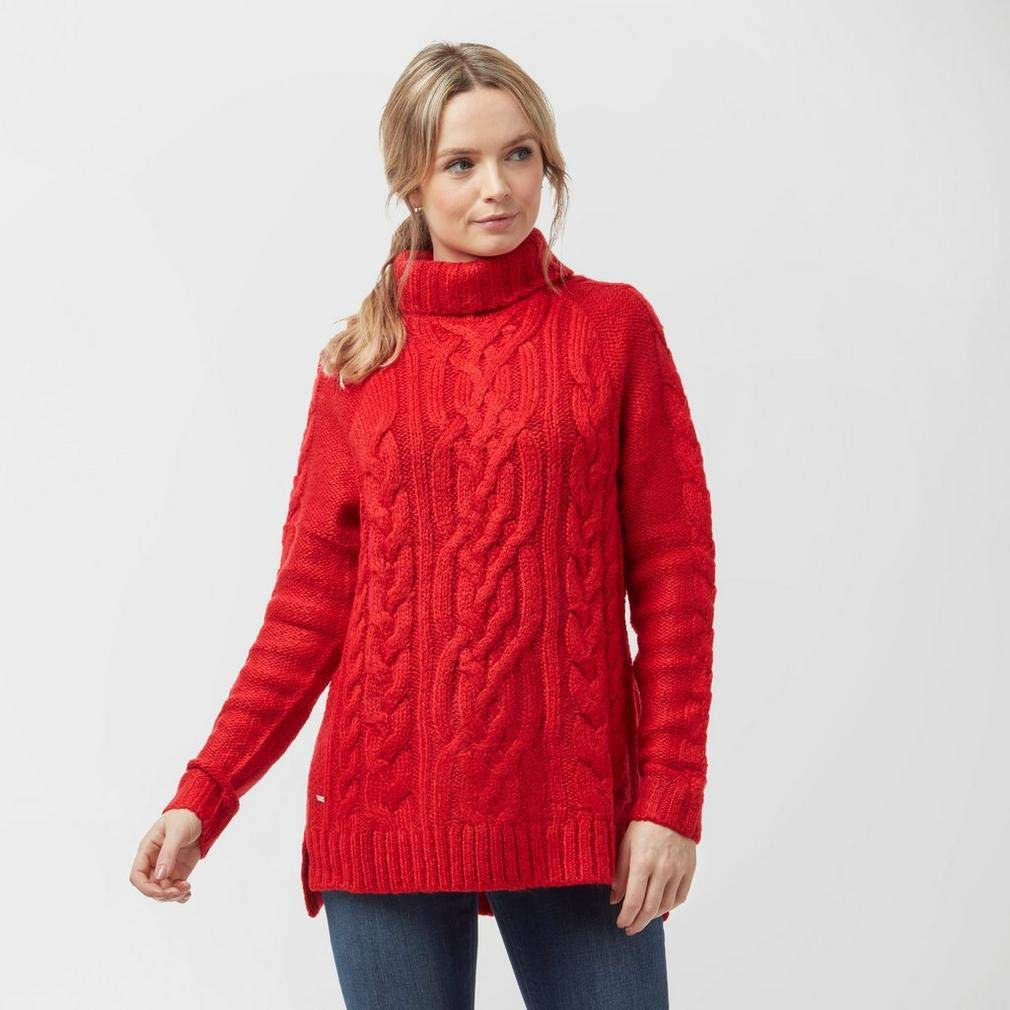 4b30d8612 Joules Womens Jessie Cosy Cable Knit Oversized Jumper  Amazon.co.uk   Clothing