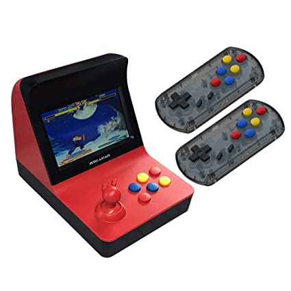 4d85f437593e CHAISI Arcade Game Console Mini 4.3 Inch Retro Arcade A8 Gaming Console  Machine Supports up to