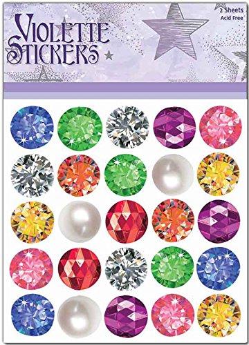 Violette Stickers Gem Dots ()