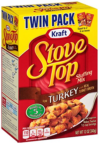 amazon com stove top stuffing mix turkey twin pack 12 ounce