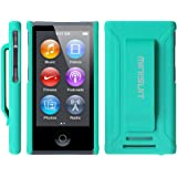 MiniSuit JAZZ Slim Shell Case with Belt Clip + Screen Guard for iPod Nano 7
