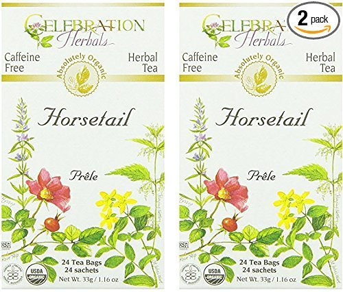 Celebration Herbals Organic Horsetail Caffeine