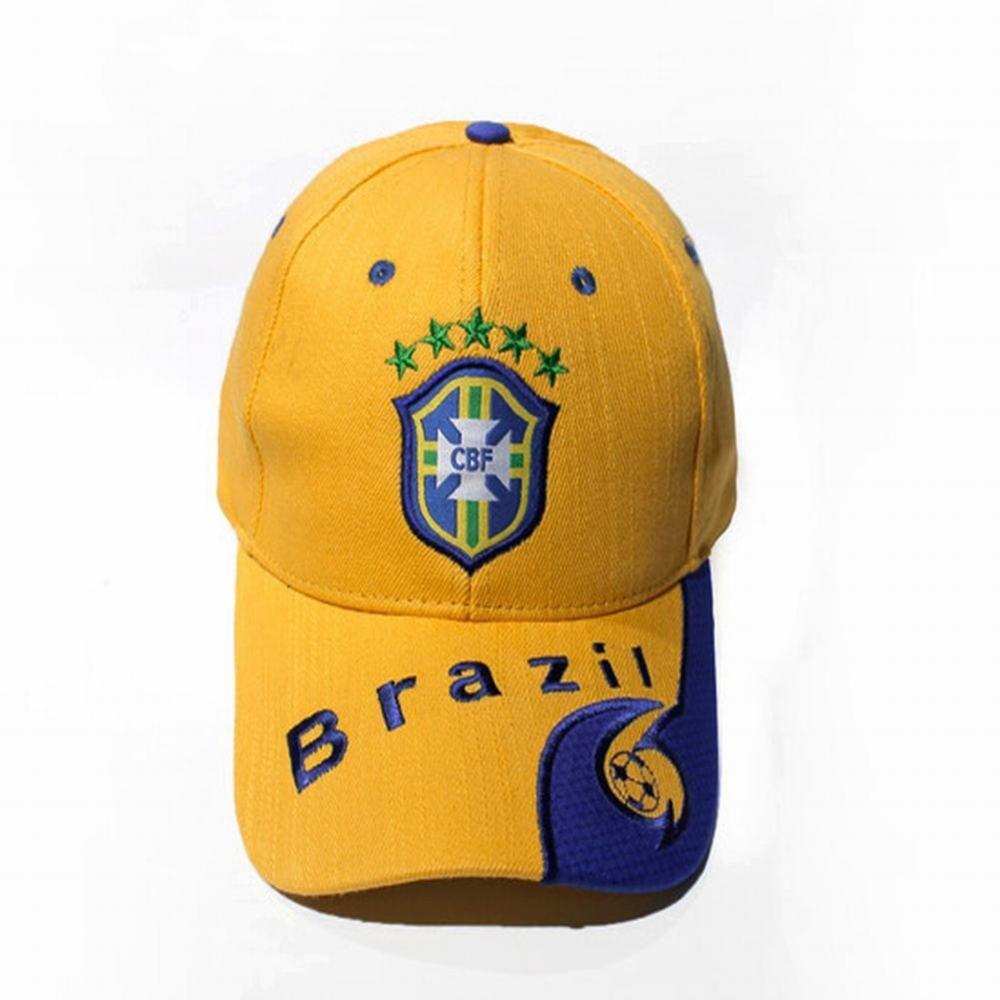 weiwei Fan della squadra nazionale cappellini da baseball ricamati Cappellini visiera, Argentina, Taglia unica WEI