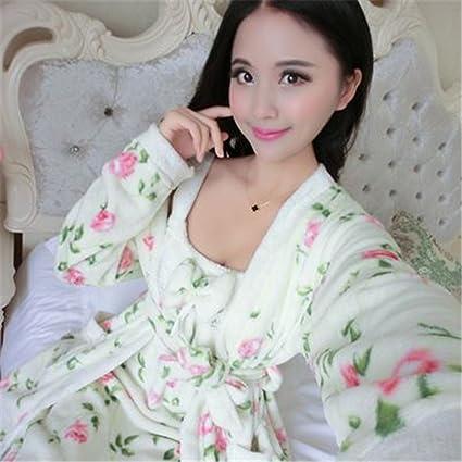 MIWANG La primavera y el verano de baño precioso falda pijamas, Señoras Vaca Albornoz Inicio