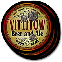 Vittitow Beer & Ale - 4 pack Drink Coasters