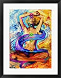 Enlightenment Framed Art Print Wall Picture, Black Frame, 23 x 29 inches
