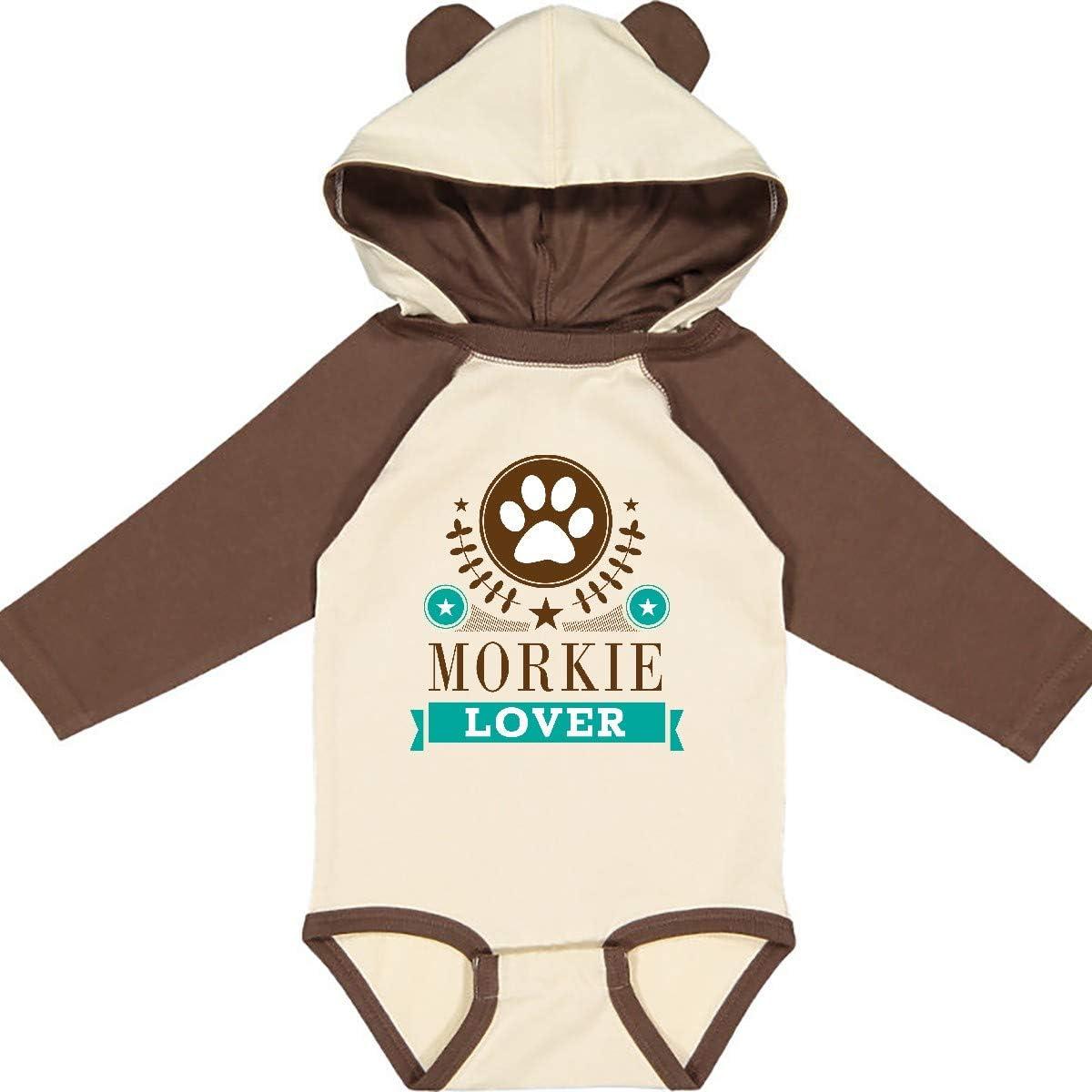 inktastic Morkie Lover Long Sleeve Creeper
