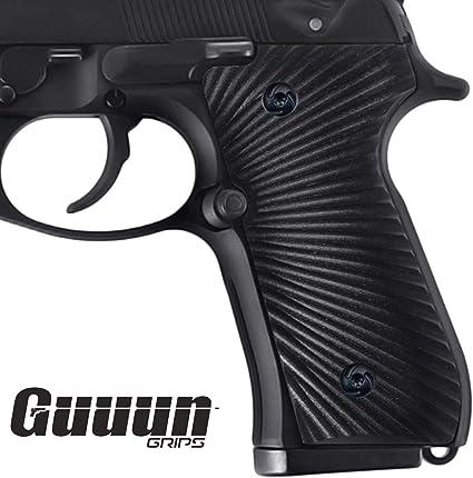 Oval Texturing Beretta 92//96 Series Walnut Grips