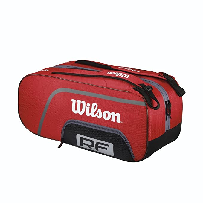 Amazon.com: Wilson Federer Team – Paletero: Sports & Outdoors