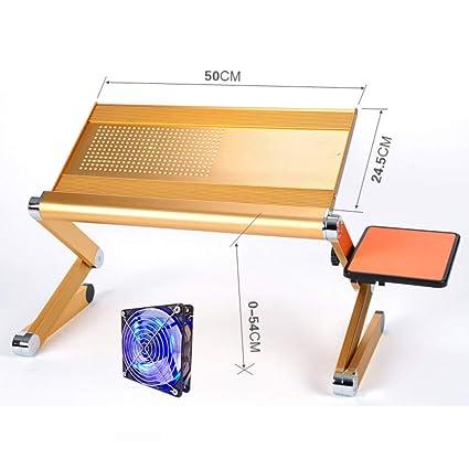 Nclon Mesa Plegable de Portátil,Mesa para Ordenador Plegable Portátil Mesita para Cuadernos Portátil con