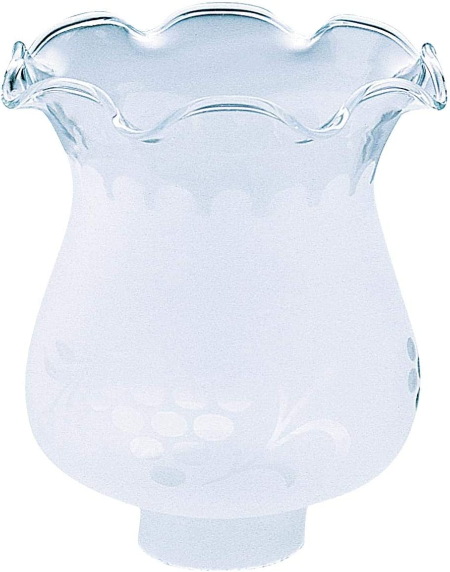 Westinghouse 8110000 1-5 8 Hand-Blown Frosted Etched Glass Shade