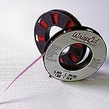 WrapCut Vinyl Wrap Matte, Carbon, Gloss Edge Cutting Tape 200ft x 1/8in Roll