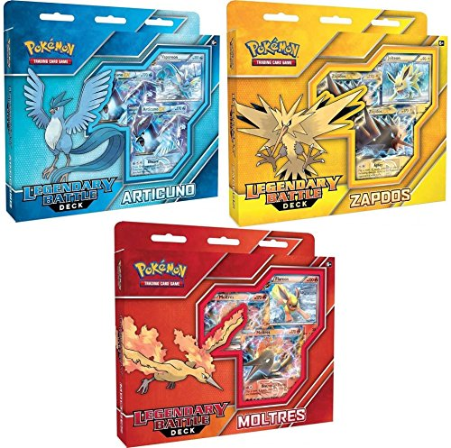 Pokemon Articuno EX, Zapdos EX & Moltres EX Set of for sale  Delivered anywhere in USA