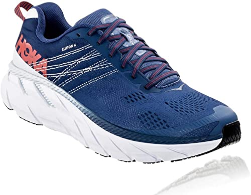 HOKA ONE One Clifton 6 Deportivas Hombres Azul - 41 1/3 - Running/Trail: Amazon.es: Zapatos y complementos
