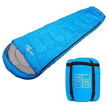 Saco de dormir, jóvenes Go cálido y cómodo 300 gsm saco de dormir bolsa con