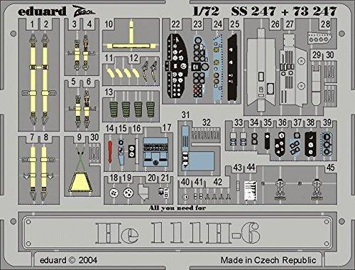 Eduard Accessories SS247/30502000/Heinkel He 111/H de 6