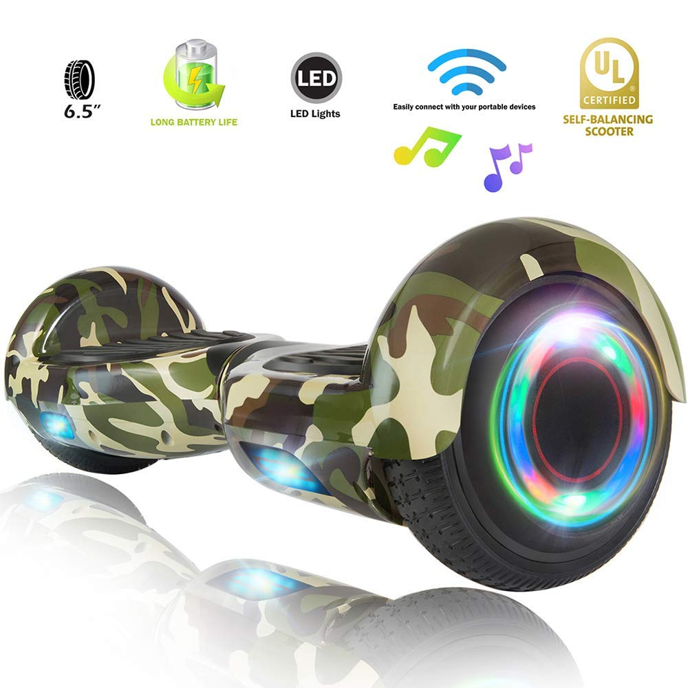 XPRIT Easter Sale Hoverboard w/Bluetooth Speaker (Camouflage) by XPRIT (Image #1)