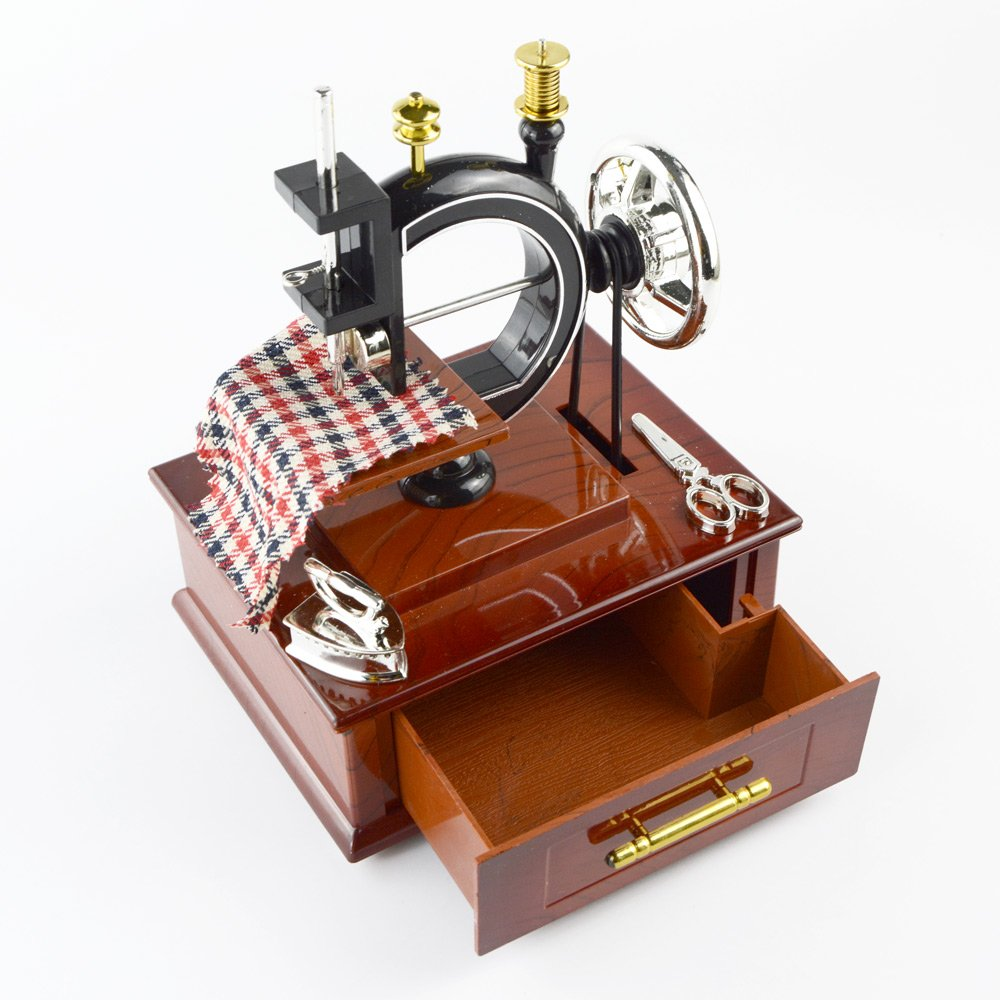 福袋 Saim Saim Antique Antique Lookミニソーイングマシン機械音楽ボックス B00UT68E4E B00UT68E4E, キタウラマチ:6dfa8a8c --- arcego.dominiotemporario.com
