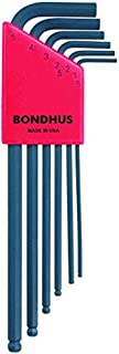 product image for Bondhus 10946 Set of 6 Balldriver L-wrenches, sizes 1.5-5mm