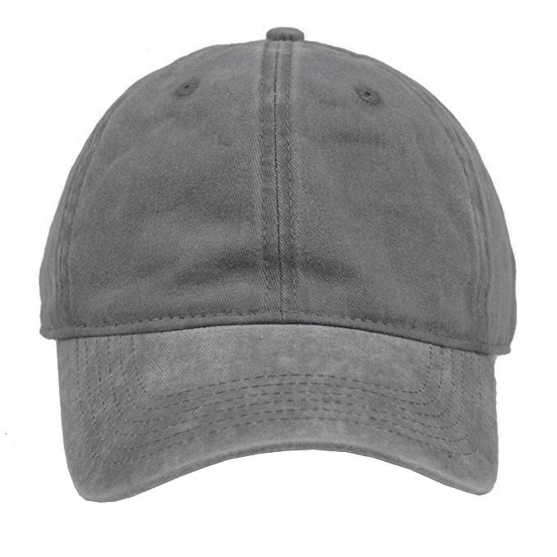 Eohak Kids Distresed-Washed Baseball Hat Infant Toddler Baby Boy Cotton Hats Distresed for 2-8 Years