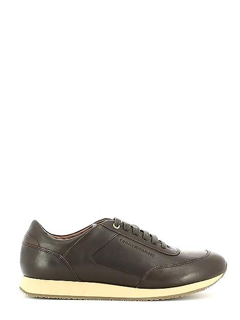 Zapatillas Tommy Hilfiger Mac 1a - Color - MARRON, Talla - 42: Amazon.es: Zapatos y complementos
