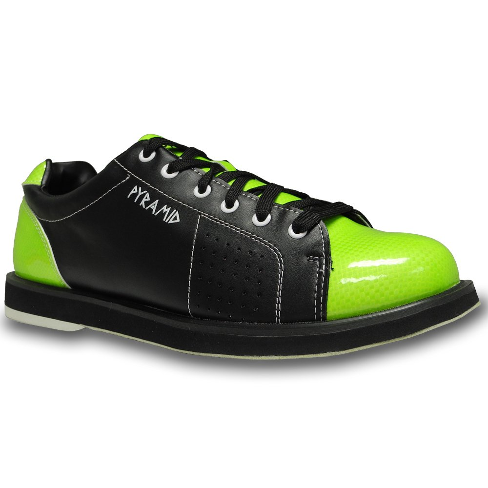 Pyramid Mens Path Bowling Shoes (Black/Lime Green, Size 11) by Pyramid