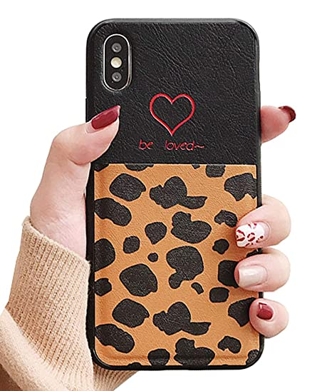 lowest price 2aafe 475ab Amazon.com: UnnFiko Leather Wallet Case Compatible with iPhone 6 ...