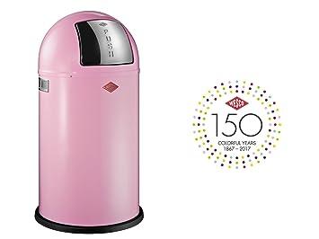 Wesco Outdoor Küchen : Wesco  pushboy küchen abfalleimer metall rosa