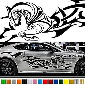 Amazoncom UNICORN Tribal Car Sticker Car Vinyl Side Graphics - Custom graphics for cars