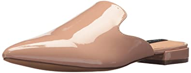 6250fc20fad STEVEN by Steve Madden Women s Valent Loafer Flat Nude Patent 6 ...